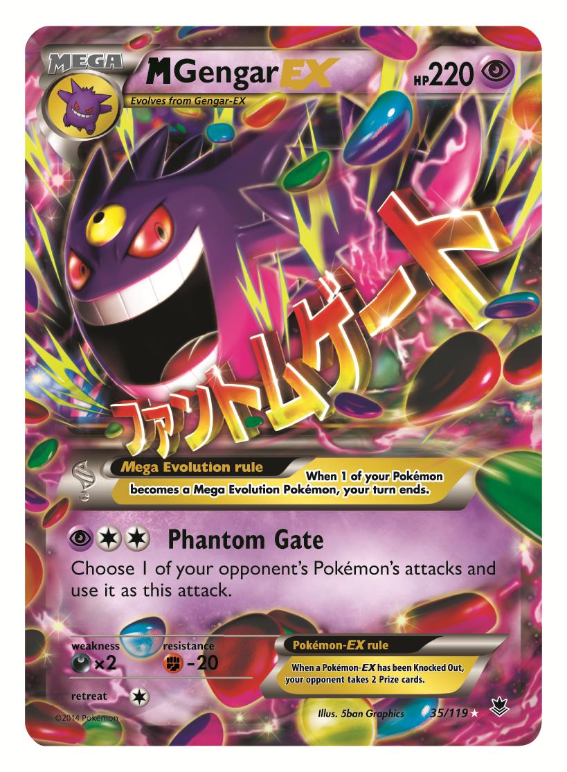 Pokémon TCG: XY—Phantom Forces Available November 5th ...