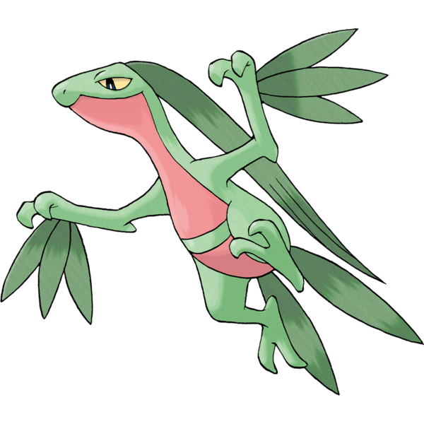 Mega sceptile new mega evolutions pok mon omega ruby - Evolution tiplouf ...