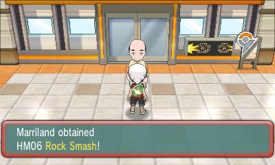 how to break rocks in pokemon ruby