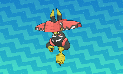 Tapu Bulu - New Pokémon - Generation VII - Azurilland
