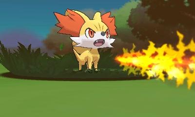 Fennekin - New Pokémon - Pokémon X & Y - Azurilland