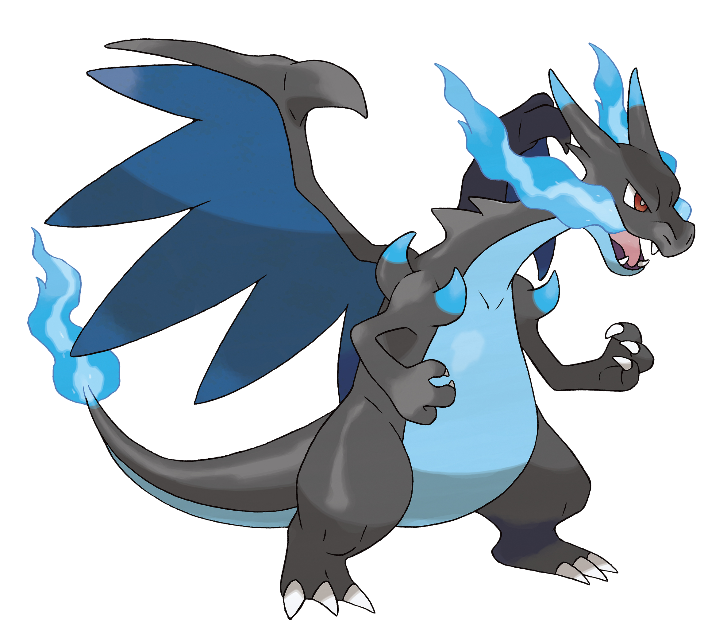 Mega Charizard X Y | Pokemon by moxie2D on DeviantArt |Pokemon X And Y Mega Evolutions Charizard
