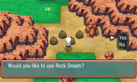 how to get smash in pokemon ruby