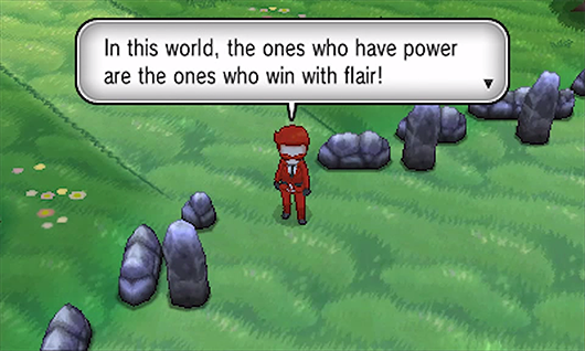Team Flare Grunt Pass The Team Flare Grunt Went