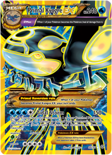 Pokémon TCG: XY--Ancient Origins Features Shiny Primal Pokémon ...