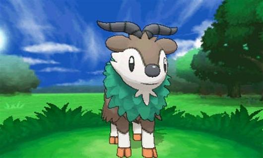 Skiddo - New Pokémon - Pokémon X & Y - Azurilland