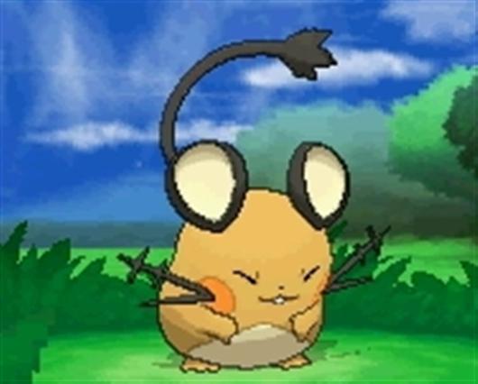 Dedenne new pok mon pok mon x y azurilland - Pokemon x raichu mega evolution ...