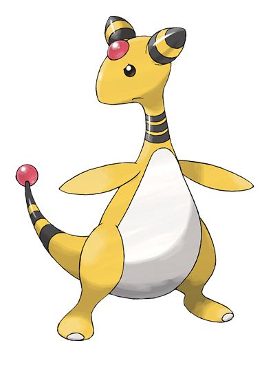 Mega ampharos mega evolution pok mon x y azurilland - Evolution pokemon xy ...