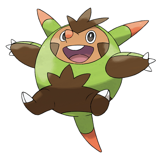Pokemon X And Y Chespin Evolution New Pokemon X and Y in...