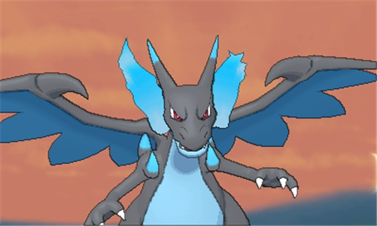 Mega charizard x mega evolution pok mon x y azurilland - Pokemon y mega evolution ...