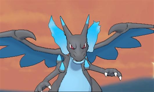 Mega charizard x mega evolution pok mon x y azurilland - Pokemon mega evolution ex ...
