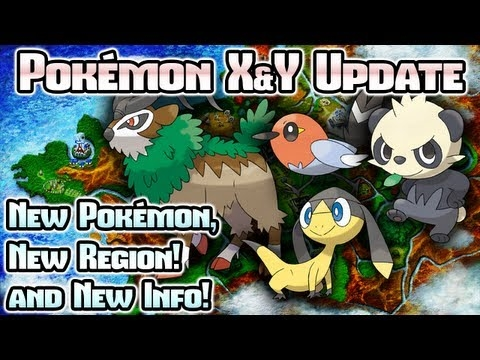 New Pokémon, Kalos Region Revealed, and TONS More!